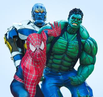 Человек-паук  и другие Супергерои